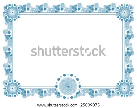 Blank Certificate Template best photos of printable stock – Blank Stock Certificate Template Free