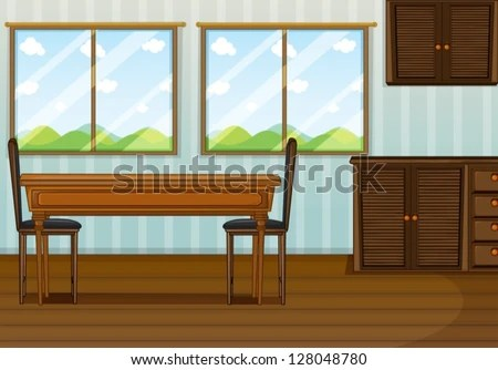 Cartoon Kitchen Table Stock Images Royalty Free Images
