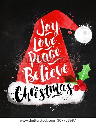 I Love Santa Claus Stock Images Royalty Free Images