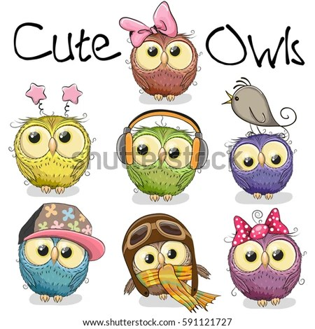 Cute Owl Stock Images Royalty Free Images Amp Vectors