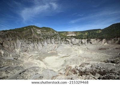 Tangkuban Perahu - stock photo