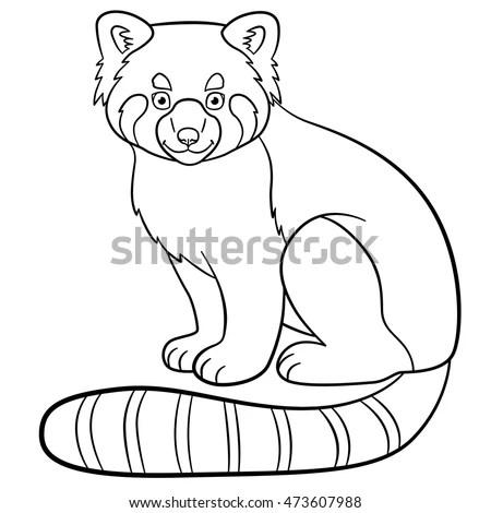 panda red sitting stock photos royalty free images amp vectors
