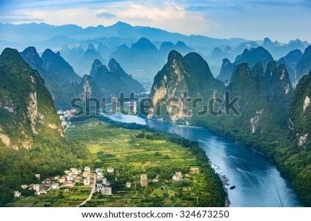 karst landscape china likewise blank united states map