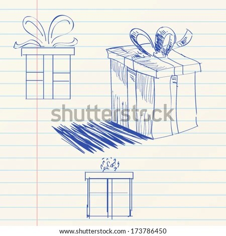 Big Pile Colorful Wrapped Gift Boxes Stock Vector