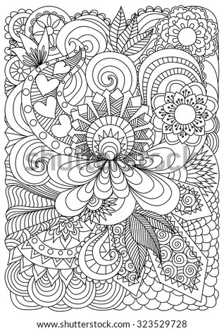 Coloring Pages Stock Photos Images Amp Pictures Shutterstock