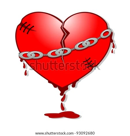 Isolated Heart Cartoon Design Stock Vector 517616608