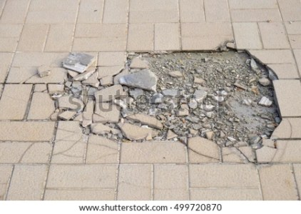 Cracked Floor Tiles Stock Photo  Edit Now  499720870   Shutterstock Cracked floor tiles