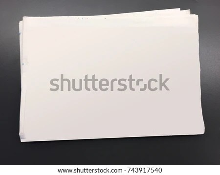 Blank Newspaper Template Advertisement Headline Text Stock Photo     Blank newspaper  Template for advertisement or headline text and pictures