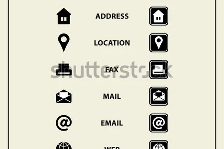 Business card contact information icons 4k pictures 4k pictures business card vector icons home phone address telephone fax business card vector icons home phone address telephone fax web free contact icons for business reheart Images