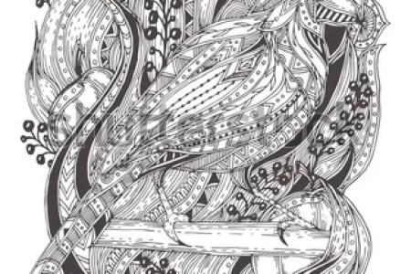 Tattoo Vector Masjas Mandala Coloring Page Made By Masja Van Den Berg Peacock Designs Creative Haven Dover Book Maori Art Pinte