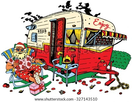 Cartoon Caravan Stock Photos Images Amp Pictures