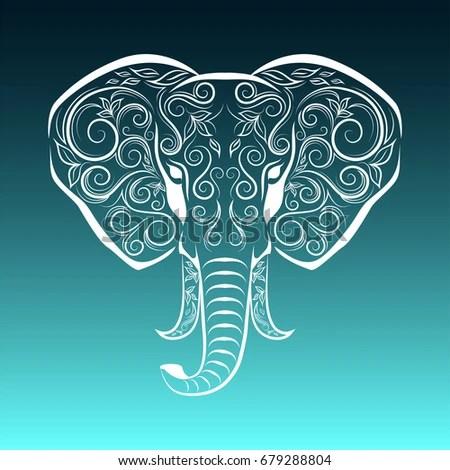 Elephant Mosaic Stock Images Royalty Free Images