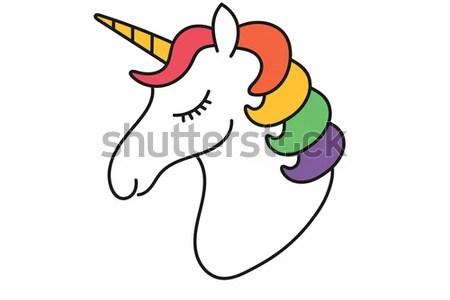 interior unicorn face stencil 4k pictures 4k pictures full hq