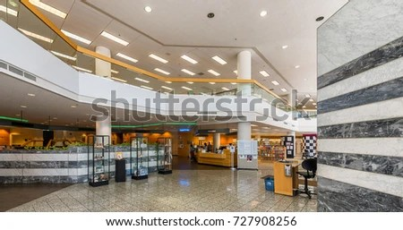 TUCSON ARIZONA AUGUST 8 Interior Joel Stock Photo  Royalty Free     TUCSON  ARIZONA   AUGUST 8  Interior of the Joel D Valdez Main Library on
