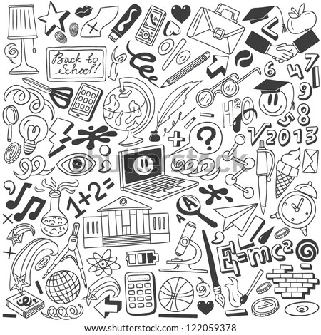 School Doodles Stock Images Royalty Free Images Amp Vectors