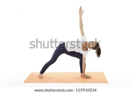 Women who are training - stock photo