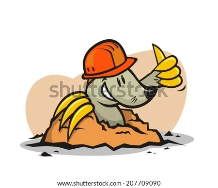 stock images similar to id 58357939 vector rich mole illustration