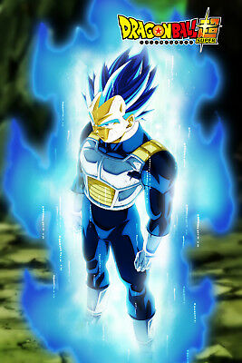 dragon ball z poster vegeta with scouter 12inches x 18inches free shipping manga anime scribeemr japanische mangas