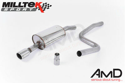other performance exhausts 2001 2008 ford fiesta mk6 1 4 1 6 zetec s full race exhaust system guidohof