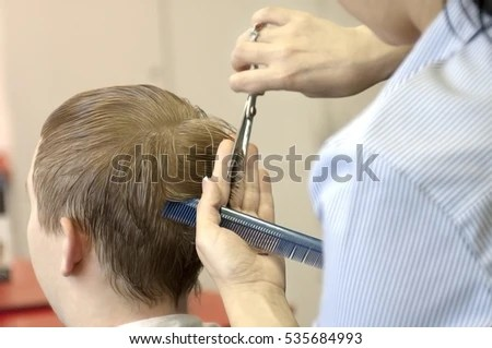 doctor examines scalp pretty young girl stock photo shutterstock