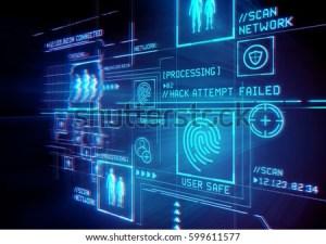 Digital Security Data Protection Conceptual Illustration Stock Illustration 599611607  Shutterstock