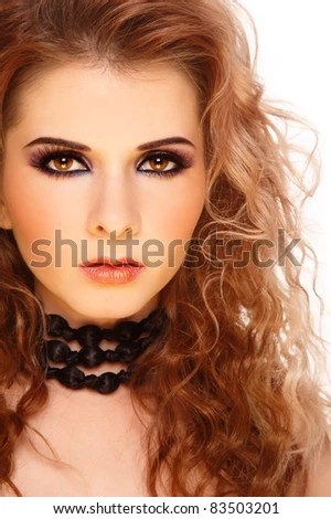 young beautiful woman knitted winter hat stock photo shutterstock