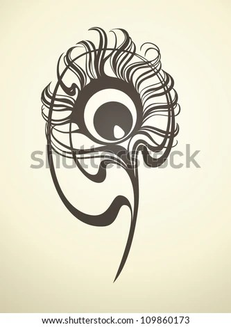 Peacock Tattoo Stock Photos Images Amp Pictures Shutterstock