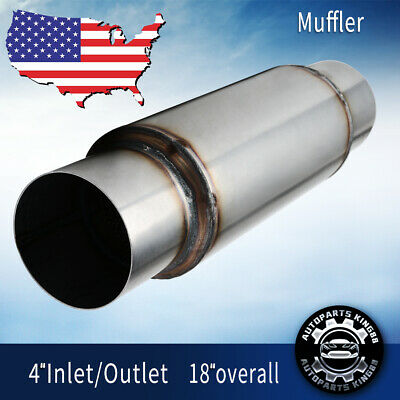 exhaust resonator pipe fits 2006 2007 hummer h3 3 5l 3 7l cat back systems automotive