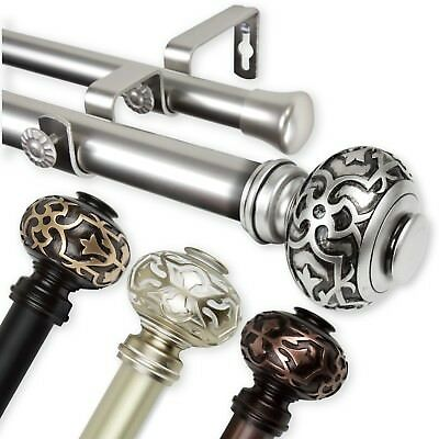 120 double curtain rod 5708d choose from 3 sizes 28