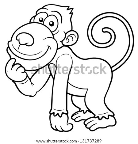 cartoon monkey pictures to color images amp pictures becuo