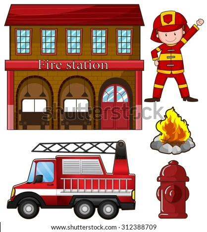 Fire Station Stock Images Royalty Free Images Amp Vectors
