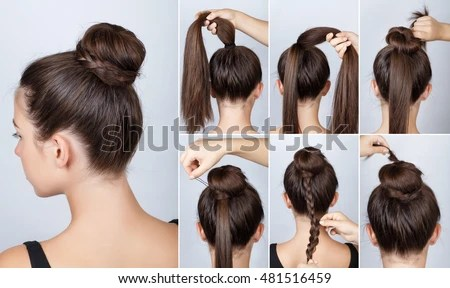 hairstyle stock images royalty free images vectors shutterstock