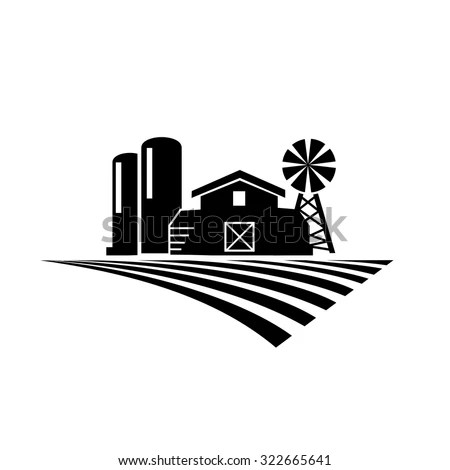 Farm Silhouette Stock Photos Images Amp Pictures