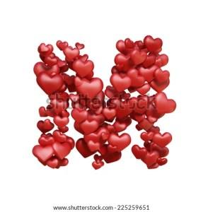 Gift Resin Love Heart Alphabet Initial Key Beads Letter Bead M Mm Jewelry Shape Earrings Poshmark