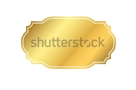 Gold Frame Beautiful Simple Golden Design Stock Vector 670670137     Beautiful simple golden design  Vintage style decorative border isolated  white background