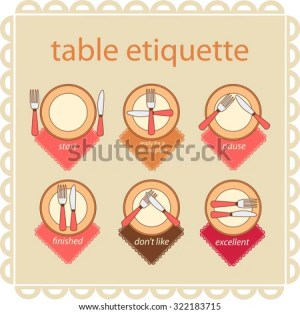Table Etiquette Stock Photos, Images, & Pictures | Shutterstock