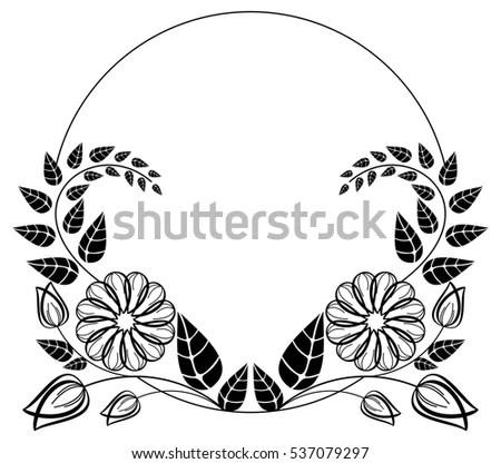 Frame Clip Art Black And White | Frameswalls.org