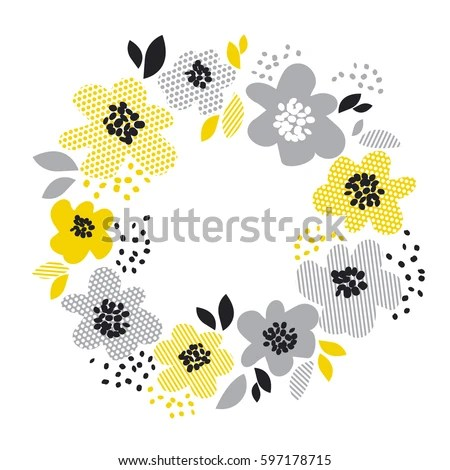 Circle Wreath Stock Images Royalty Free Images Amp Vectors