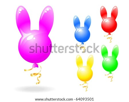 Rabbit Balloon Stock Images Royalty Free Images Amp Vectors
