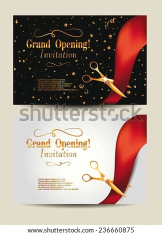Showroom Inauguration Invitation Card Design Invitationjpgcom