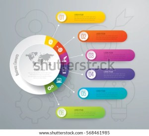 Infographics Design Vector Marketing Icons Can Stock