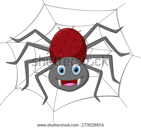 Image result for Spider cartoon