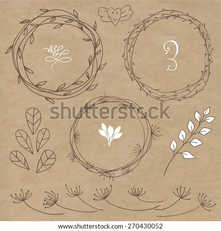 Twig Wreath Stock Images Royalty Free Images Amp Vectors