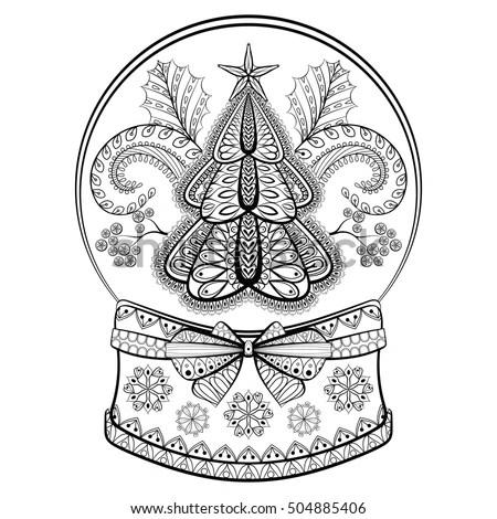 Christmas Mandalas Stock Images Royalty Free Images