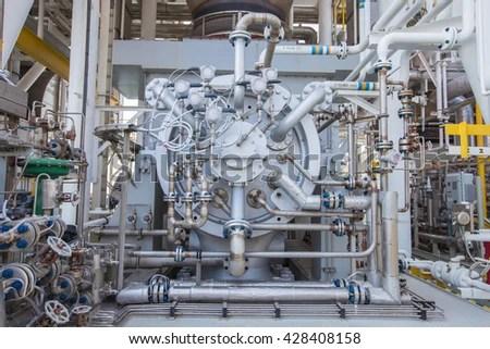 Gas Turbine Compressor Radial Type Gas Compressor Stock