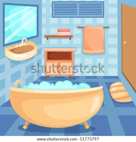 Bathroom Cartoon Stock Images Royalty Free Images