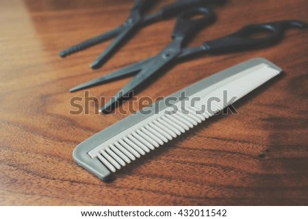 hair cutting shears b stock photo shutterstock
