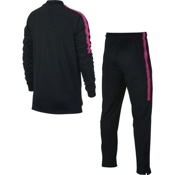 paris saint germain trainingsanzug dry squad knit schwarz pink kinder