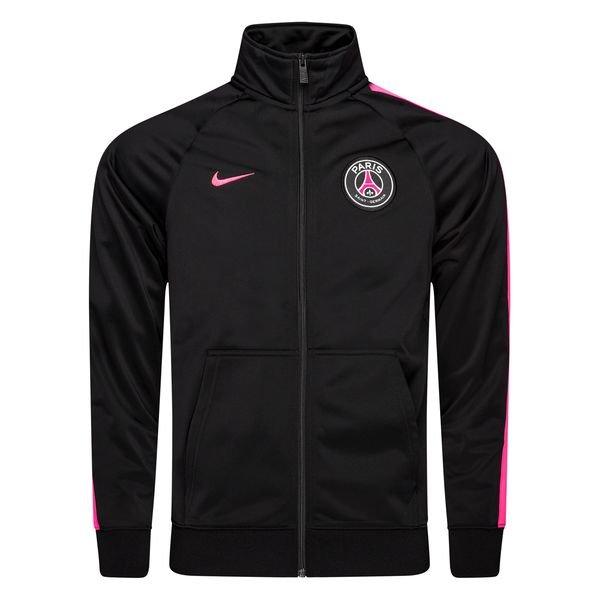 paris saint germain trainingsjacke nsw crew schwarz pink
