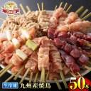 【ふるさと納税】 <九州産鶏肉>生冷凍焼鳥セット5種盛り合わ